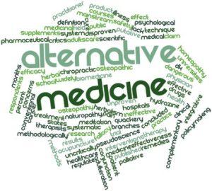 Word cloud for Alternative medicine