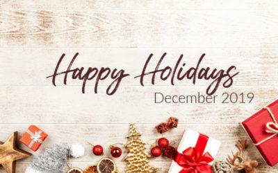 December 2019- Happy Holidays